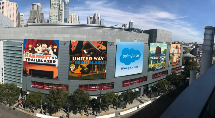 DreamForce Wrap Up Illustration